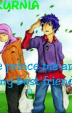 The prince me and my best friend by dellakurniia