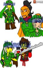 Ninjago greenflame skybound by valerianinjaguer2017