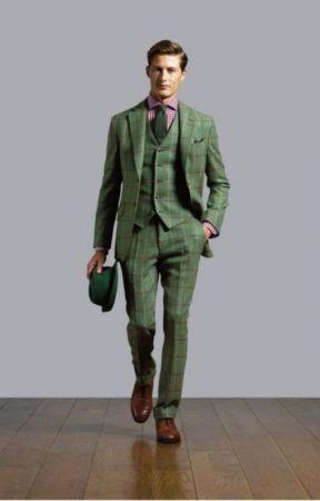 Custom Made Tweed Suit On line by jenniswarmann