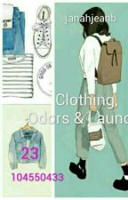 31 Clothing, Odors & Laundry by janahjea