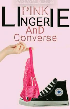 Pink lingerie & converse by 31tendai
