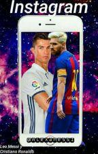 Instagram © // Leo Messi y Cristiano Ronaldo// by Alexamessi