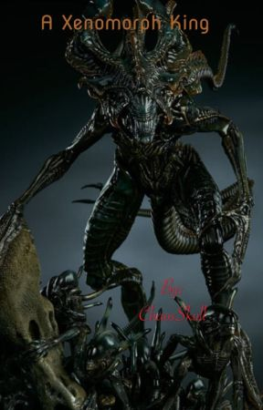 A Xenomorph king by ChaosSkull