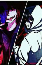 ( Creepypasta) Eyeless Jack X Jeff the Killer - I hate you but I love you  by ZeroDerekJames