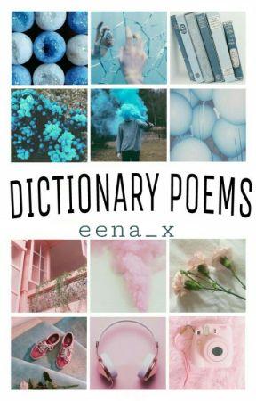 Dictionary poems by ooeena