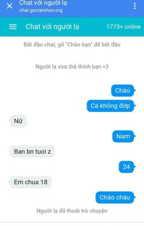 Lạ chat 18 người với [TT8] Chat