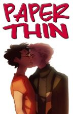 Paper Thin - Drarry by Ghostly_Foxx