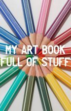 My Art Book Full of Stuff by DiamondBlue674