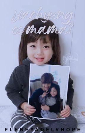 ¿Taehyung Es Mamá? [HopeV M-preg][Namjin][Yoonmin-Yoonkook] -EDITANDO- by daren_larry_shipper