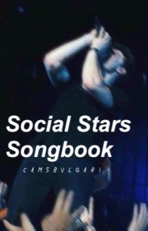 Social Stars Songbook by camsbvlgari
