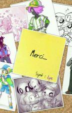 Merci (Undertale AU's school fiction) by PurpleAida