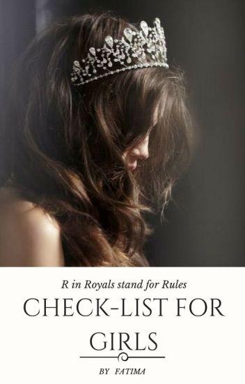 Check -  List for Girls