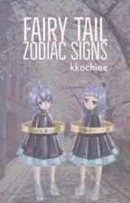Zodiac Signs (Fairy Tail) by kkochiee