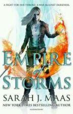 Trono De Vidro Vol 5 - Império de tempestades by JessicaDominique5