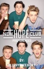 new hope club preferences💘 by blissnhc