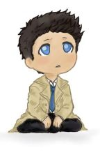 Baby Castiel by Bored-With-A-Brain