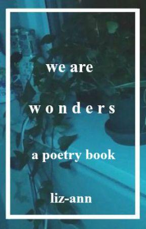 we are wonders by liz-ann
