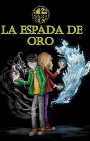 La Espada de Oro (Los Elegidos #1) by Max_Carrington_16