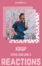 ▶RÉACTIONS | KPOP by JUNIV3RSE-
