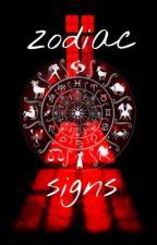 zodiac signs  by Maddiemoe9