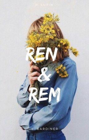 Ren & Rem// r. lupin by marauduh