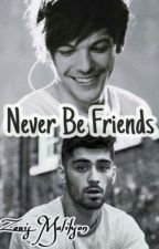 Never Be Friends ||Zouis Malikson by 123Hager-Malik