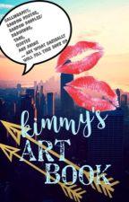 Kimmy's Art Book by kimberlyeunice
