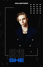 she | luke hemmings by calumtoxic