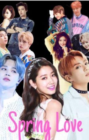 Spring Love 🌸 BTS fanfic (JIMIN x Reader x JUNGKOOK