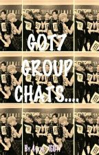GOT7 GROUP CHATS.... by 4ever_IGOT7_