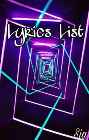 Lyrics list one day tate mcrae wattpad lyrics list stopboris Images