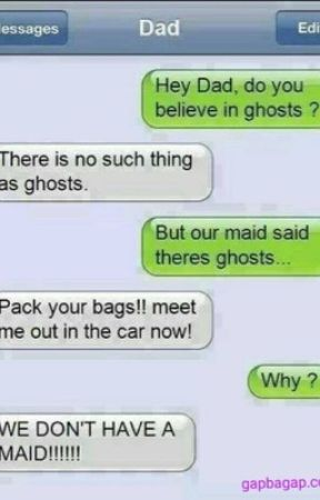 scary text messages smile wattpad