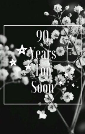 ❝90 Years Too Soon❞    Vkook  by skyaeronwen