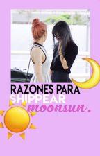Razones para shippear Moonsun. by TAEGGER