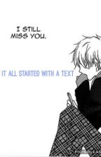 It All Started With A Text (OHSHC Yaoi) by 99930D