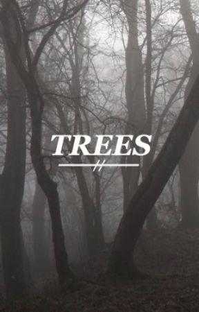 trees by blushingdun