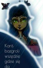 Kariś bazgroli wszędzie gdzie się da-Art Book by Karaisa-Chan
