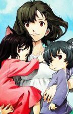 Wolf children Ame, Yuki and Arahsi by AngelicaBarretto