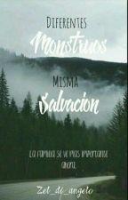 Diferentes Monstruos, Misma Salvación.(Nico Di Angelo y tú) by Zel_di_Angelo