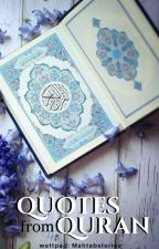 Quotes from Quran by mahtabstories