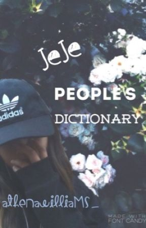 Jeje People's Dictionary by athenawilliams_