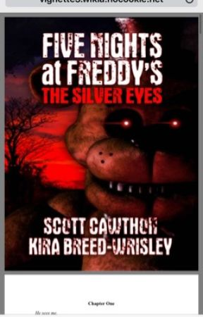 Five Nights At Freddys The Silver Eyes Pdf