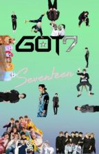 Got7 and Seventeen scenarios and more  by peachyyraphiee
