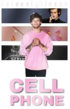 Cell Phone [texting] l.s by lelexstylinson