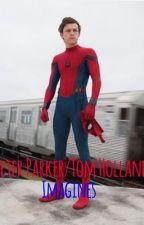 Peter Parker (Tom Holland) imagines  by cuddlingholland