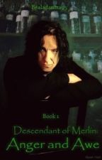 Descendant of Merlin (Severus Snape) by bealadantra95