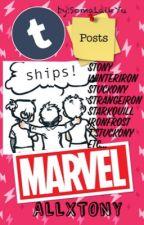 Funny Posts Tumblr (MARVEL) stony, winteriron, ships by SomaLaikYu