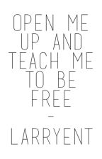 Open Me Up & Teach Me to Be Free - power of youth larry stylinson short story by larryent