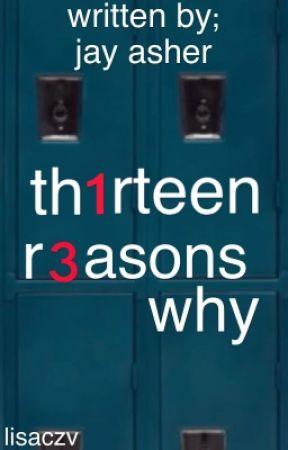13 reasons why - Jay Asher by lisaczv