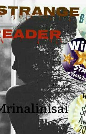 A Strange Reader  by Mrinalinisai_2308